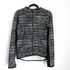 Nike therma-fit printed hoodie zip up jacket